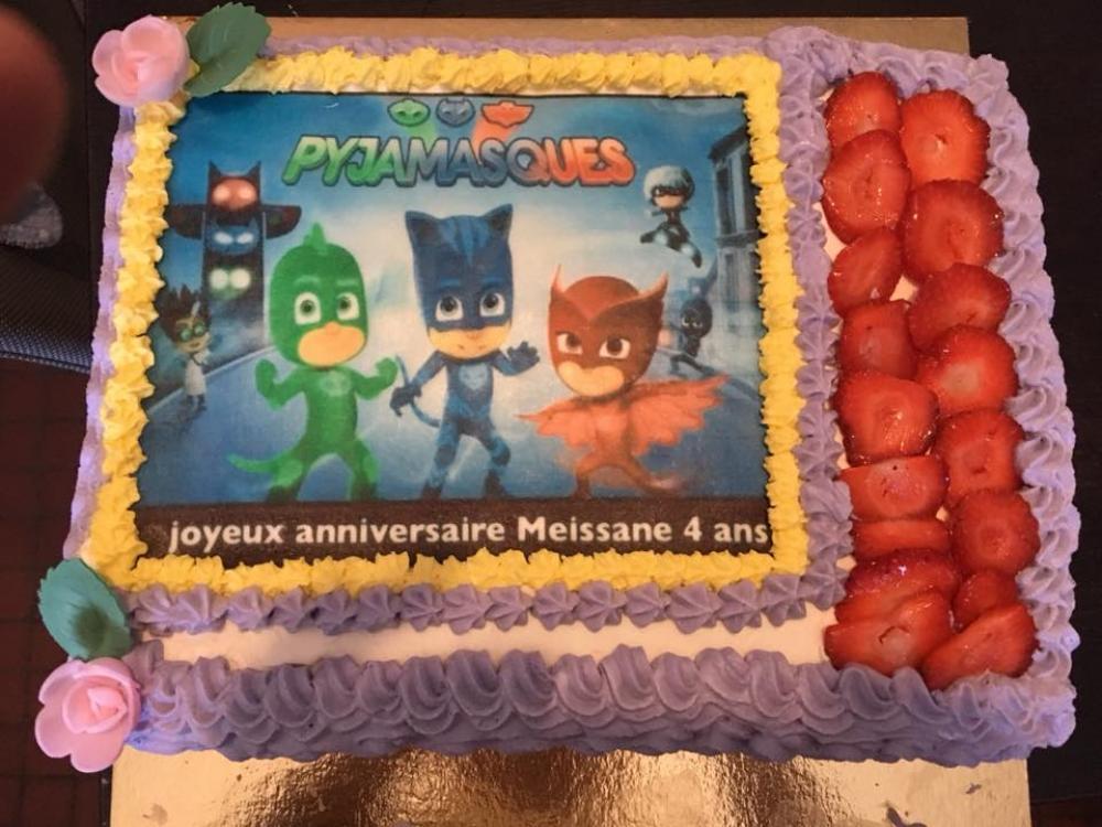 Gateau anniversaire Douai